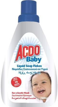 Acdo Baby Liquid Soap Flakes 750ml